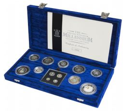 2000 Silver Proof Coin Collection Millennium for sale